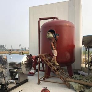 江苏天成集团200万羽鸡场水处理净化和无负压供水设备
