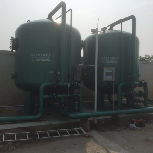 如皋市自来水公司应急水源除铁锰设备