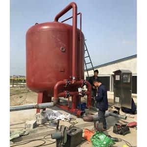 泰兴市洋宇万头猪场水处理设备安装