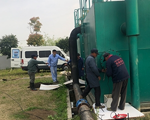 一体化净水设备保养